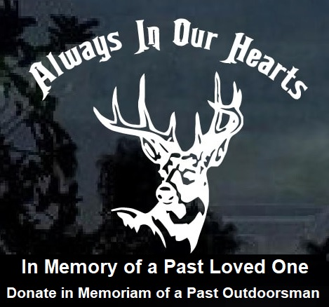 Outdoorsman memorial donate image kids hunting foundation